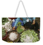 Local Farmers Selling Their Crop Weekender Tote Bag