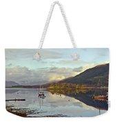 Loch Leven Moorings Weekender Tote Bag