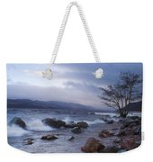 Loch Ness Shoreline At Dusk Weekender Tote Bag
