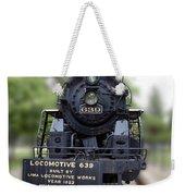 Locomotive 639 Type 2 8 2 Front View Weekender Tote Bag