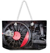 Locomotive Wheel Weekender Tote Bag by Carlos Caetano