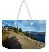 Lodge On The Crater Weekender Tote Bag