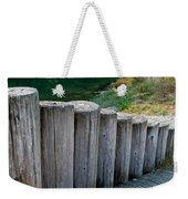 Log Handrail Weekender Tote Bag