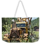 Logging Truck - Burke Idaho Ghost Town Weekender Tote Bag