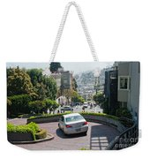 Lombard Street San Francisco Weekender Tote Bag