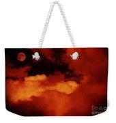 Lomo Moon And Clouds Weekender Tote Bag