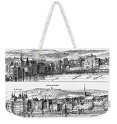 London, 16th Century Weekender Tote Bag
