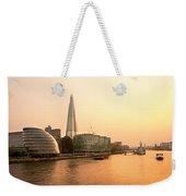 London At Dusk Weekender Tote Bag
