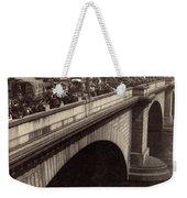 London Bridge - England - C 1896 Weekender Tote Bag by International  Images