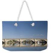 London Bridge And Reflection Weekender Tote Bag