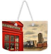 London Calling Weekender Tote Bag