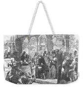 London: Christmas, 1866 Weekender Tote Bag