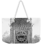 London: Clock Tower, 1856 Weekender Tote Bag