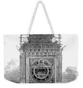 London: Clock Tower, 1856 Weekender Tote Bag