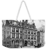 London: Daily News, 1885 Weekender Tote Bag