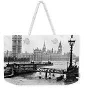 London England - House Of Parliament - C 1909 Weekender Tote Bag