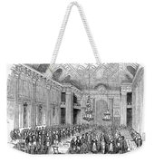 London: Freemasons Hall Weekender Tote Bag by Granger