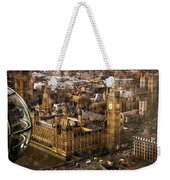 London From The London Eye Weekender Tote Bag