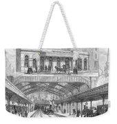London: Railway, 1876 Weekender Tote Bag