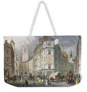 London: Street Scene, 1830 Weekender Tote Bag