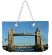 London Tower Bridge Looking Magnificent In The Setting Sun Weekender Tote Bag