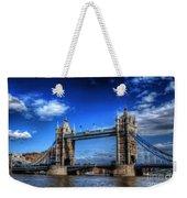 London Tower Bridge Weekender Tote Bag