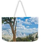Lone Pine At Half Dome Weekender Tote Bag