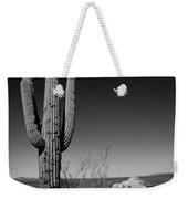 Lone Saguaro Weekender Tote Bag