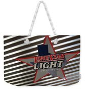 Lone Star Beer Light Weekender Tote Bag