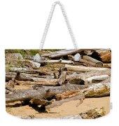 Lonely Driftwood Weekender Tote Bag