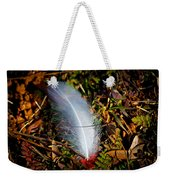 Lonely Feather Weekender Tote Bag