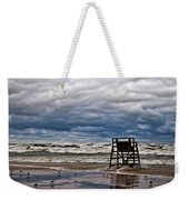 Lonely Lifeguard Chair 2 Weekender Tote Bag