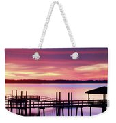 Long After Sunset Weekender Tote Bag