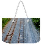 Long And To The Left Weekender Tote Bag