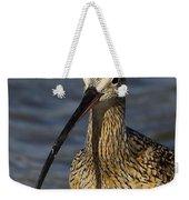 Long-billed Curlew Portrait Weekender Tote Bag