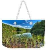 Long Branch Lake Marsh Weekender Tote Bag by Adam Jewell