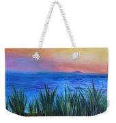 Long Island Sound Sunset Weekender Tote Bag