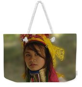 Long Neck Beauty Karen Tribe Weekender Tote Bag