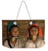 Long Neck Girls Weekender Tote Bag