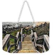 Long Stairway To Beach 2 Weekender Tote Bag