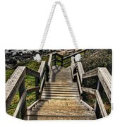 Long Stairway To Beach Weekender Tote Bag