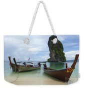 Long Tail Boats Thailand Weekender Tote Bag