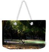Lonley Park Bench Weekender Tote Bag