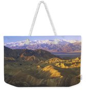 Looking At Panamint Range Weekender Tote Bag by Tim Fitzharris