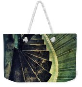 Looking Down An Old Staircase Weekender Tote Bag