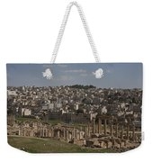 Looking Down At The Ancient And Modern Weekender Tote Bag