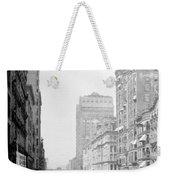 Looking Down State Street - Chicago - C  1897 Weekender Tote Bag