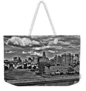 Looking Downtown From The Erie Basin Marina Weekender Tote Bag