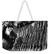 Looking Over Guns In Guard Room Weekender Tote Bag
