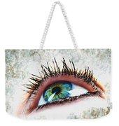 Looking Up Eye Art Weekender Tote Bag
